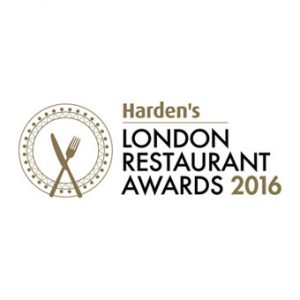 Harden's London restaurant awards