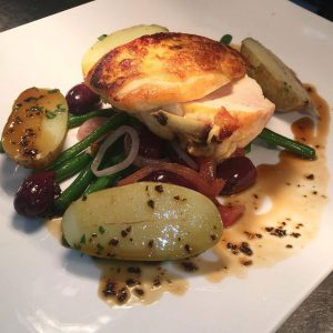 The Plough Inn Restaurant Hathersage, Hope Valley - chicken