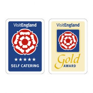 Awarded 4 Stars and Gold Award from Visit England