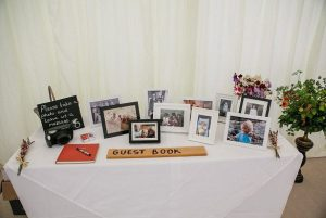 Wedding venue Hathersage, Hope Valley, Peak District -guest book