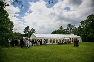 Wedding venue Hathersage, Hope Valley, Peak District - marquee