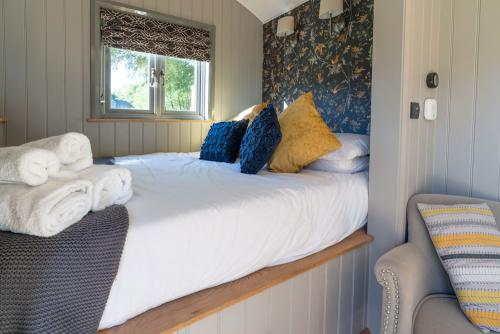 Shepherd Huts self catering Hathersage Derbyshire Peak District
